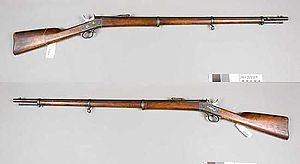 Remington M1867 - Image: Gevär m 1867 Sverige (Remington Armémuseum)
