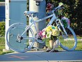 Ghost bicycle in southeast Orem, Utah, Aug 16.jpg