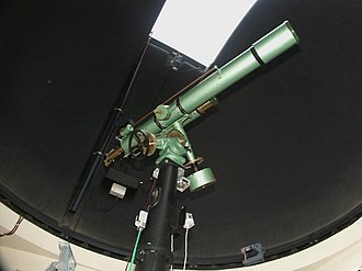 Gifford Observatory - 130 mm Zeiss refracting telescope