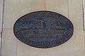 Gijon, placa altitud en el ayuntamiento.jpg