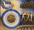 Giovanni di Paolo (Giovanni di Paolo di Grazia) (Italian, Udine 1487–1564 Rome) - The Creation of the World and the Expulsion from Paradise - Google Art Project.jpg