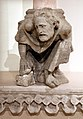 Giovanni pisano, sculture dalla loggetta superiore del duomo di massa marittima, 03 figura umana accucciata.jpg