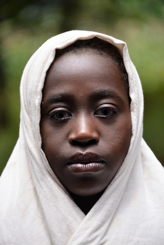 Girl of the Welayta people