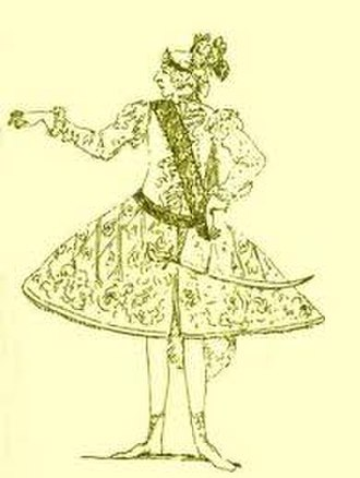 Berenice (opera) - Caricature of Gizziello, creator of the role of Alessandro