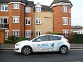 Global Guardians vehicle, Leicester Road, New Barnet.JPG