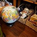 Globe, a gnome, and Albany, NY (34558195720).jpg
