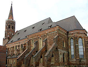 Collegiate church - Collegiate church in Głogów, Poland