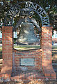Glynn Academy Liberty Bell replica.JPG
