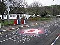 Glynn road markings - geograph.org.uk - 322737.jpg