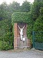 Godewaersvelde (Nord, Fr) croix de chemin.JPG