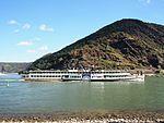 Goethe (ship, 1913) on the Rhine near Oberwesel pic5.JPG