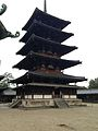 Gojunoto Tower of Horyuji Temple.jpg