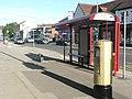 Gold Post Box, New Road Side (1) - geograph.org.uk - 3076207.jpg