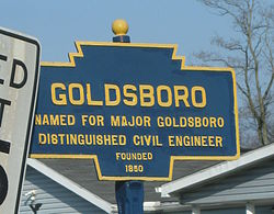 Official logo of Goldsboro, Pennsylvania