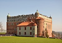 Golub-Dobrzyń, zamek krzyżacki.jpg