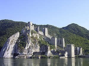 Đerdap national park - Golubac fortress