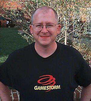 Gordon Walton - Gordon Walton at Kesmai in 1998