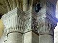 Gournay-en-Bray (76), collégiale St-Hildevert, bas-côté sud, chapiteaux du 4e pilier libre, côté sud-est.jpg