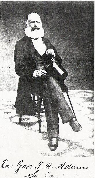 James Hopkins Adams - Governor James Hopkins Adams of South Carolina.