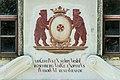 Grafenstein Schloss 1 Supraporte Wappen und Inschrift 26072018 6026.jpg