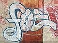 Graffiti on back of Axsom's Short Stop.JPG