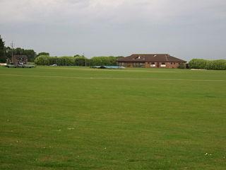 Gorse Lane Cricket ground in Grantham, Lincolnshire