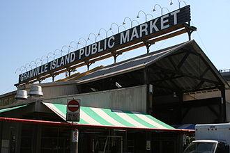 Granville Island - Granville Island Public Market