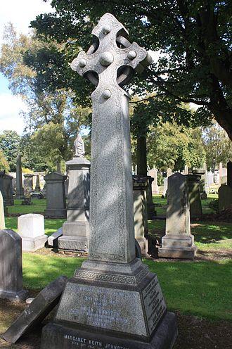 Alexander Keith Johnston (1804–1871) - Grave of Alexander Keith Johnston, Grange Cemetery