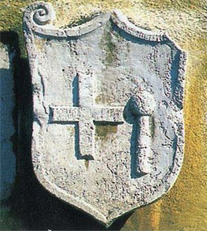 Omiš - Omiš Historical Coat of Arms from year 1541.