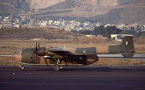 Nord Noratlas - Noratlas of the Hellenic Air Force with serial 53-228 in 1979.