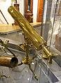Gregorian telescope with accessories by Benjamin Martin, London, 1760, used by John Winthrop to observe the Transit of Venus, 1761 - Putnam Gallery - Harvard University - DSC08054.jpg