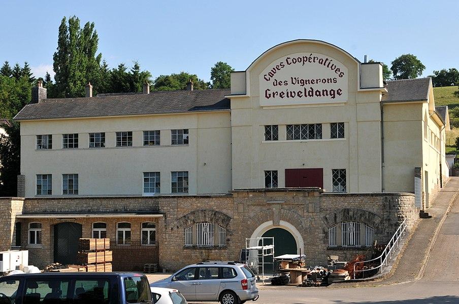 D'Genosseschaftskellerei zu Greiweldeng.