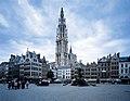 Grote Markt van Antwerpen en de Onze-Lieve-Vrouwkathedraal - 373132 - onroerenderfgoed.jpg