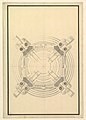 Ground Plan for a Catafalque for Frederick Augustus I, King of Poland and Elector of Saxony (1694-1733) MET DP820111.jpg