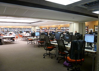 Guildhall Library - Interior of the City Business Library