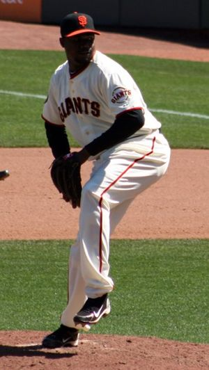Guillermo Mota - Mota with the San Francisco Giants in 2011