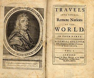 Gulliver's Travels - First edition of Gulliver's Travels
