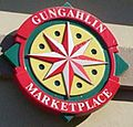 Gungahlin sign market place.JPG