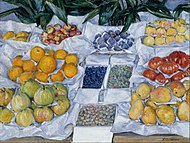 Gustave Caillebotte - Fruit Displayed on a Stand - Google Art Project.jpg