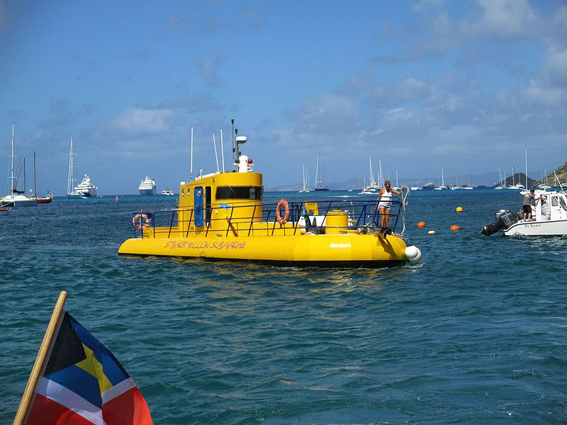 File:Gustavia (Saint-Barthélemy) — Yellow Submarine.JPG