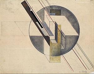 Gustav Klutsis - Construction, 1921. Latvian National Museum of Art.