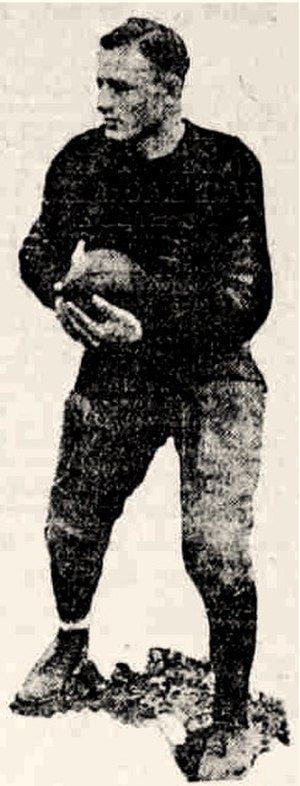 Gus Tebell - Tebell in 1922