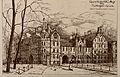 Guy's Hospital, Southwark; the medical school, south of the Wellcome V0013715.jpg