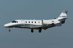 Cessna Citation XLS der Silver Cloud Air