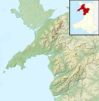 Snowdon is located in Gwynedd