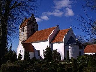 Hårlev - Hårlev church