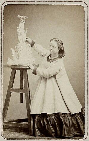 Hélène Bertaux - Hélène Bertaux (1864) Photograph by Étienne Carjat