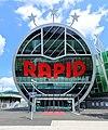 Hütteldorf (Wien) - Allianz-Stadion, Rapid-Logo.JPG