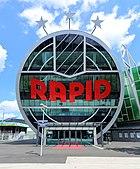 Hütteldorf (Wien) - Allianz-Stadion, Rapid-Logo