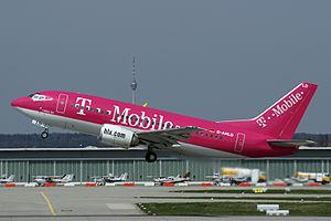 Logojet - An HLX Boeing 737 logojet
